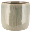 Keramik Kübel Marle, D14cm, H13cm, für TO12, euka